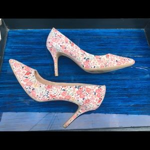 Christian Siriano Payless Floral Shoes Size 8